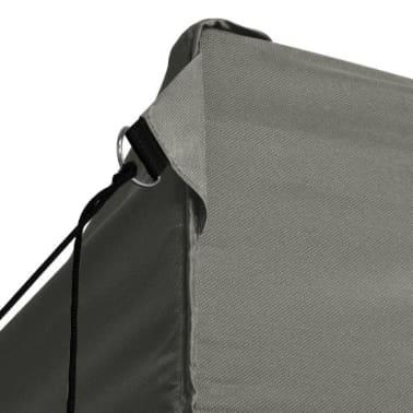 vidaXL Tenda Pieghevole con 3 Pareti 3x4,5 m Antracite[3/10]