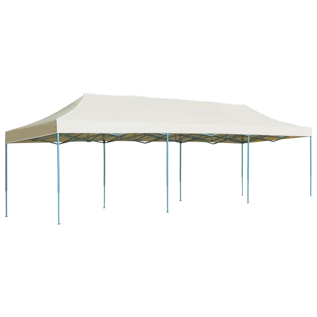 vidaXL Vouwtent pop-up 3x9 m crème