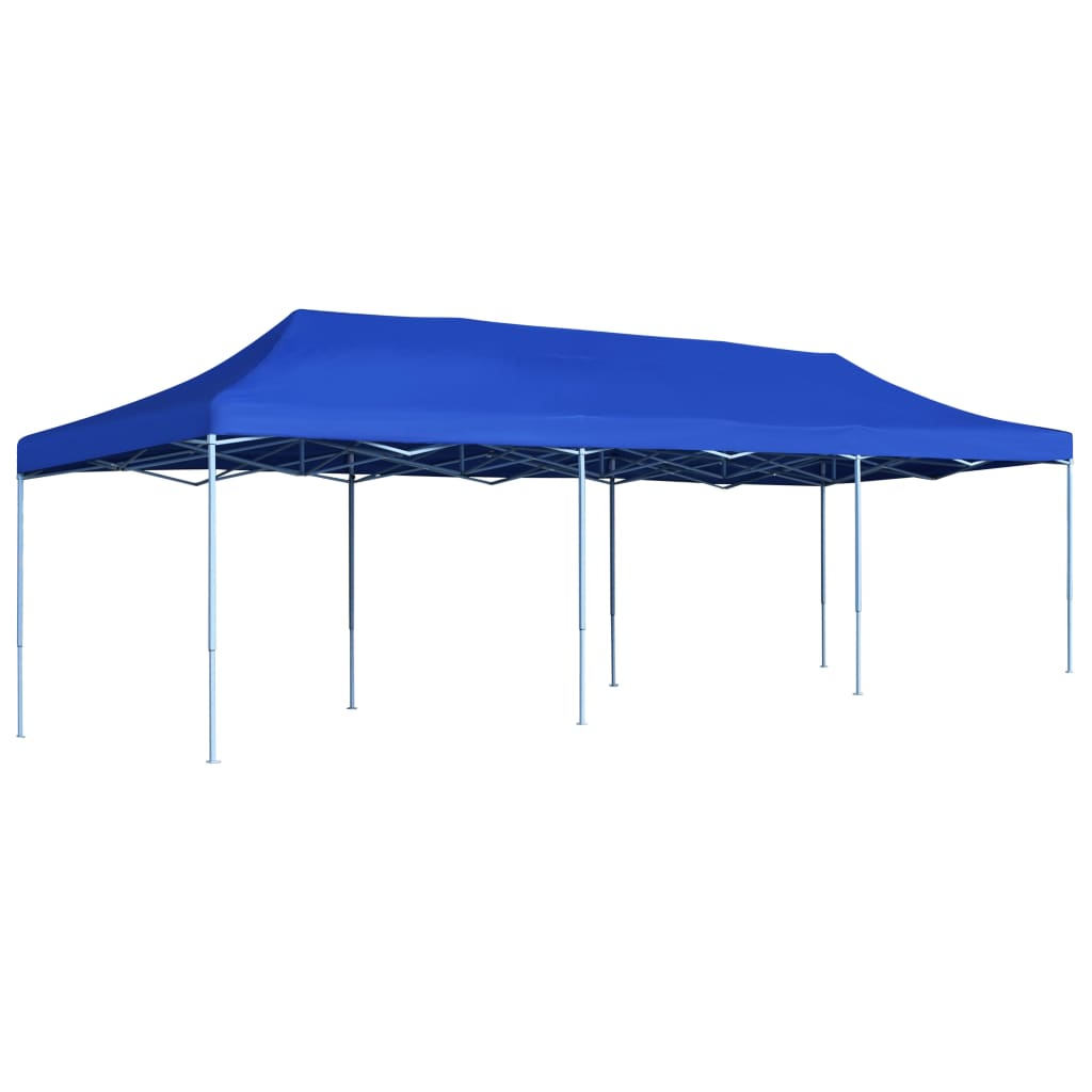 vidaXL Vouwtent pop-up 3x9 m blauw