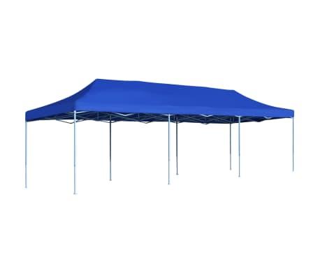 vidaXL Vouwtent pop-up 3x9 m blauw
