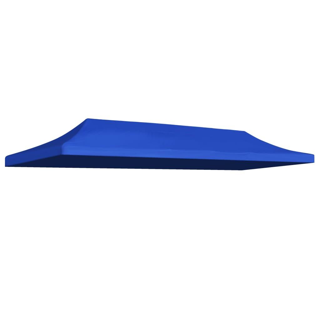 Střecha k party stanu 3 x 6 m modrá