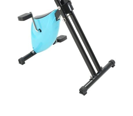 vidaXL Hometrainer X-bike bandweerstand blauw[8/11]