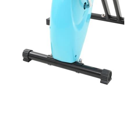 vidaXL Hometrainer X-bike bandweerstand blauw[9/11]