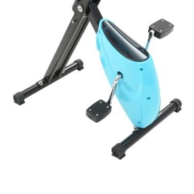 vidaXL Hometrainer X-bike bandweerstand blauw[7/11]
