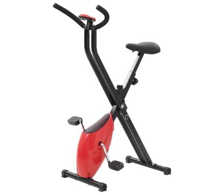 vidaXL Hometrainer X-bike bandweerstand rood[1/10]