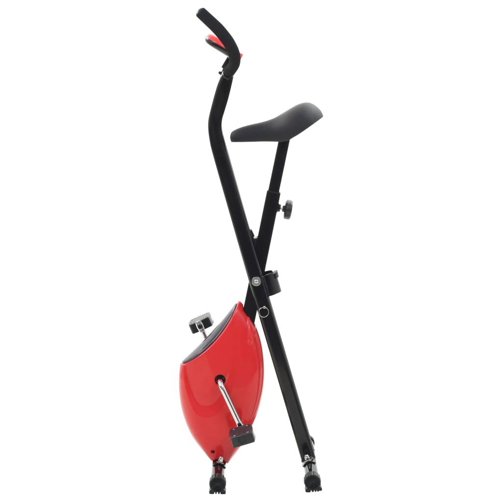 vidaXL Hometrainer X-bike bandweerstand rood kopen doe je hier met voordeel Hometrainers
