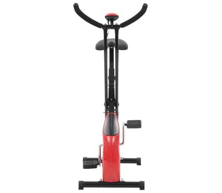 vidaXL Hometrainer X-bike bandweerstand rood[6/10]
