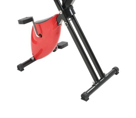 vidaXL Hometrainer X-bike bandweerstand rood[7/10]