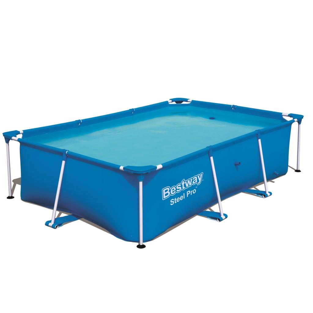 Geniet in je achtertuin met familie en vrienden in dit Bestway Steel Pro zwembad 56403!