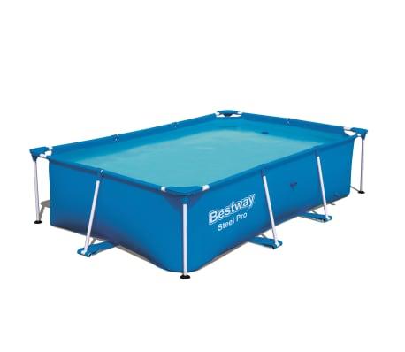 Bestway Pool med stålram Steel Pro 259x170x61 cm 56403