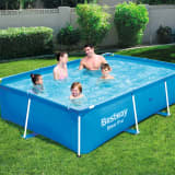 Bestway Steel Pro Swimming Pool mit Stahlrahmen 259x170x61 cm 56403