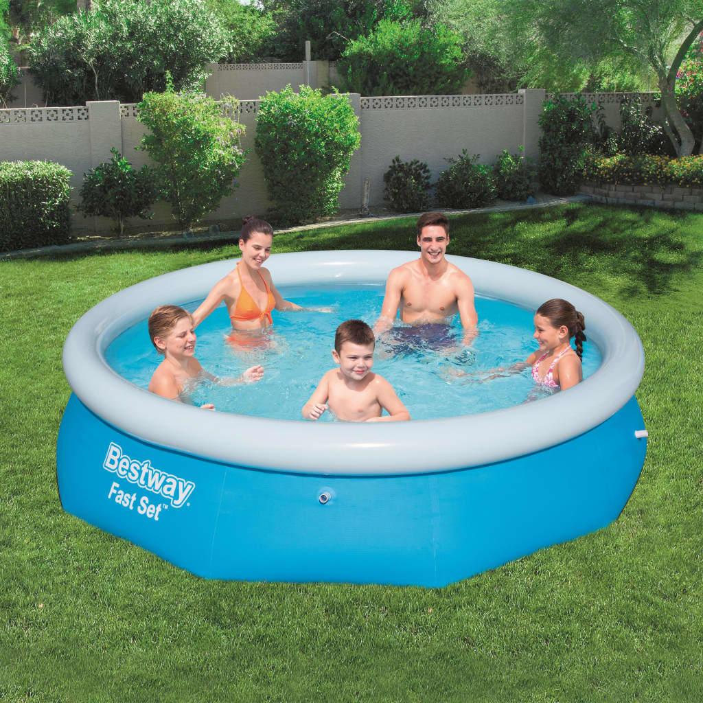 Bestway Fast Set Nafukovací bazén kruhový 305 x 76 cm 57266