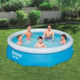 vidaXL Piscina redonda inflable Fast Set 305x76 cm 57266