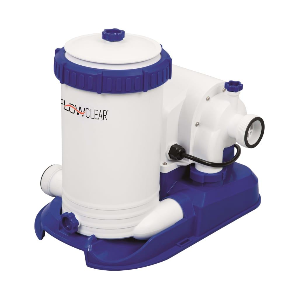 Bestway Pompă cu filtru cartuș Flowclear, 9463 L / h, 58391 vidaxl.ro