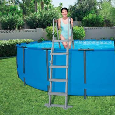Bestway Échelle de piscine à 4 marches Flowclear 132 cm 58332[5/7]