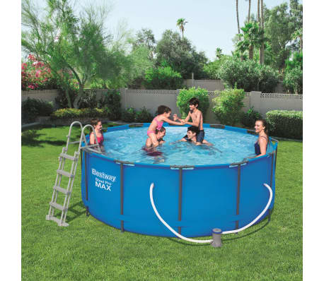 Favorit Bestway Steel Pro MAX Swimmingpool-Set Rund 366×122 cm 56420 TG28