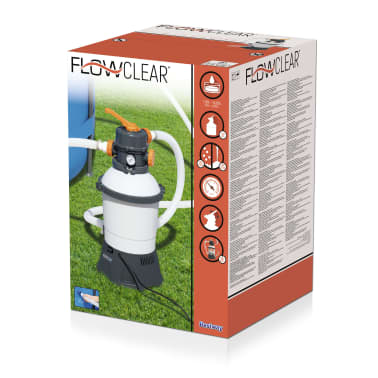 Bestway Smėlio filtras su siurbliu Flowclear, 2006 l/val., 58515[12/12]