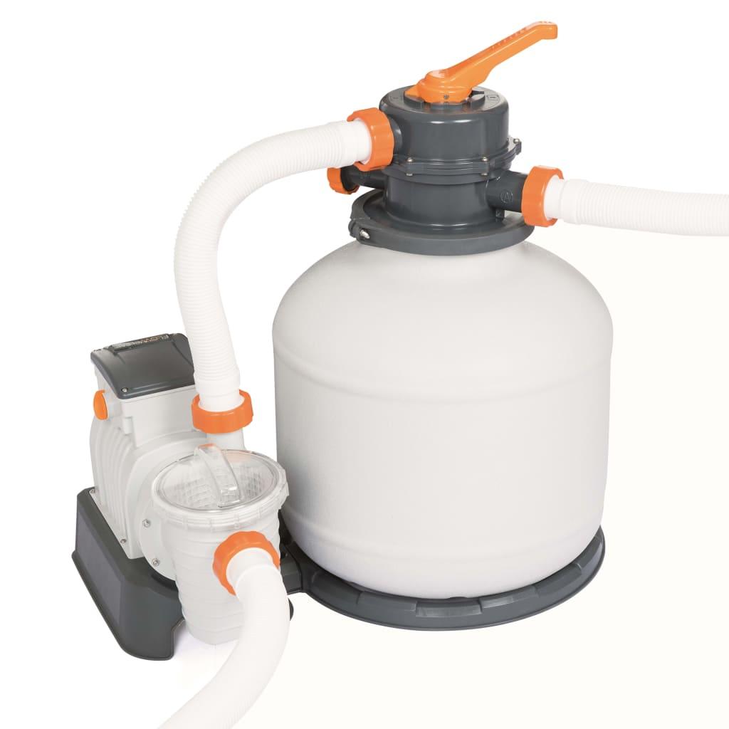 Bestway Pompă de filtrare cu nisip Flowclear 5678 L/h, 58497 vidaxl.ro