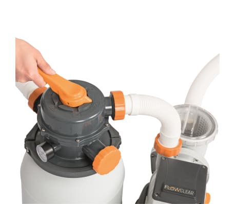 Bestway Smėlio filtras su siurbliu Flowclear, 5678 l/val., 58497[3/12]