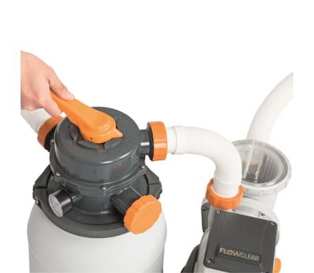 Bestway Smėlio filtras su siurbliu Flowclear, 5678 l/val., 58497[4/12]