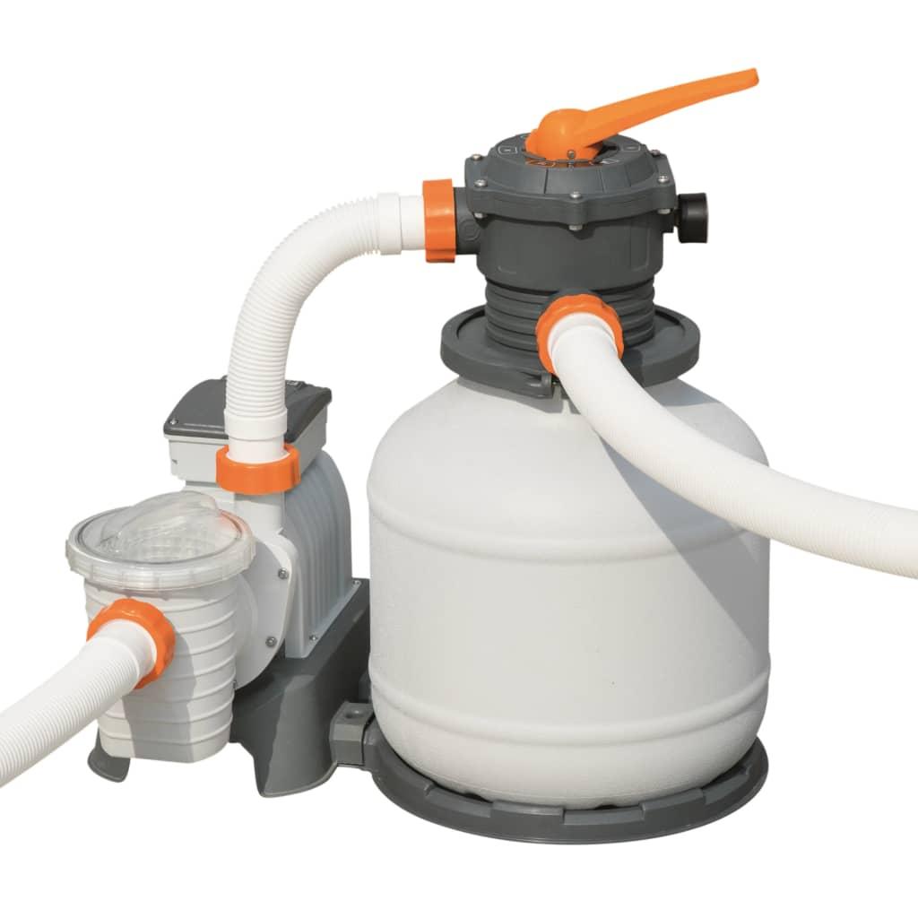 Bestway Pompă de filtrare cu nisip Flowclear, 7571 L/h, 58499 vidaxl.ro