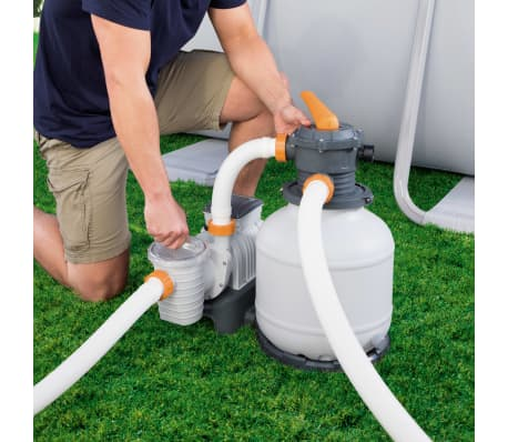 Bestway Smėlio filtras su siurbliu Flowclear, 7571 l/val., 58499[16/17]