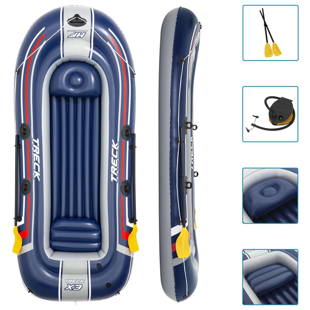 Bestway Barcă gonflabilă Hydro-Force, albastru 61066 poza vidaxl.ro