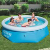 Bestway Fast Set oppustelig swimmingpool rund 244 x 66 cm 57265