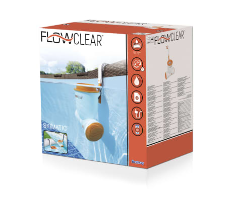 Bestway Flowclear Zwembadfilterpomp Flowclear Skimatic 2574 L/u 58462[16/16]