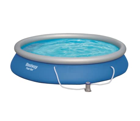 Bestway Ensemble de piscine Fast Set 457 x 84 cm 57313