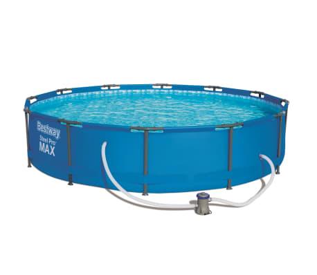 Bestway Set cu piscină Steel Pro MAX, 366 x 76 cm, 56416