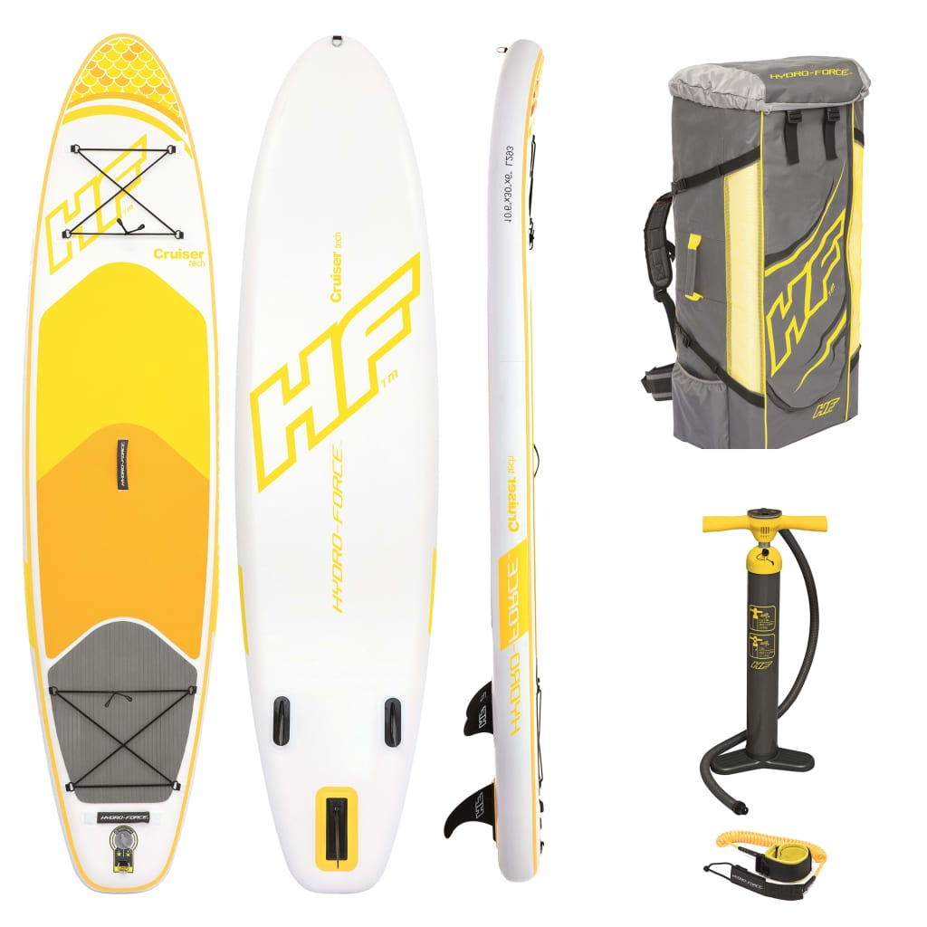 Bestway Set placă SUP gonflabilă Hydro-Force Cruiser Tech 320 cm 65305 vidaxl.ro