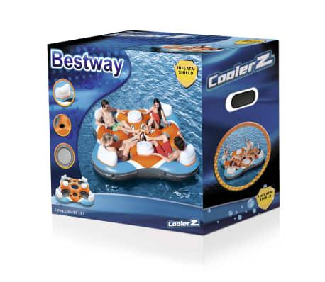 Bestway CoolerZ Baseino plaustas Rapid Rider Quad, 43115[12/12]
