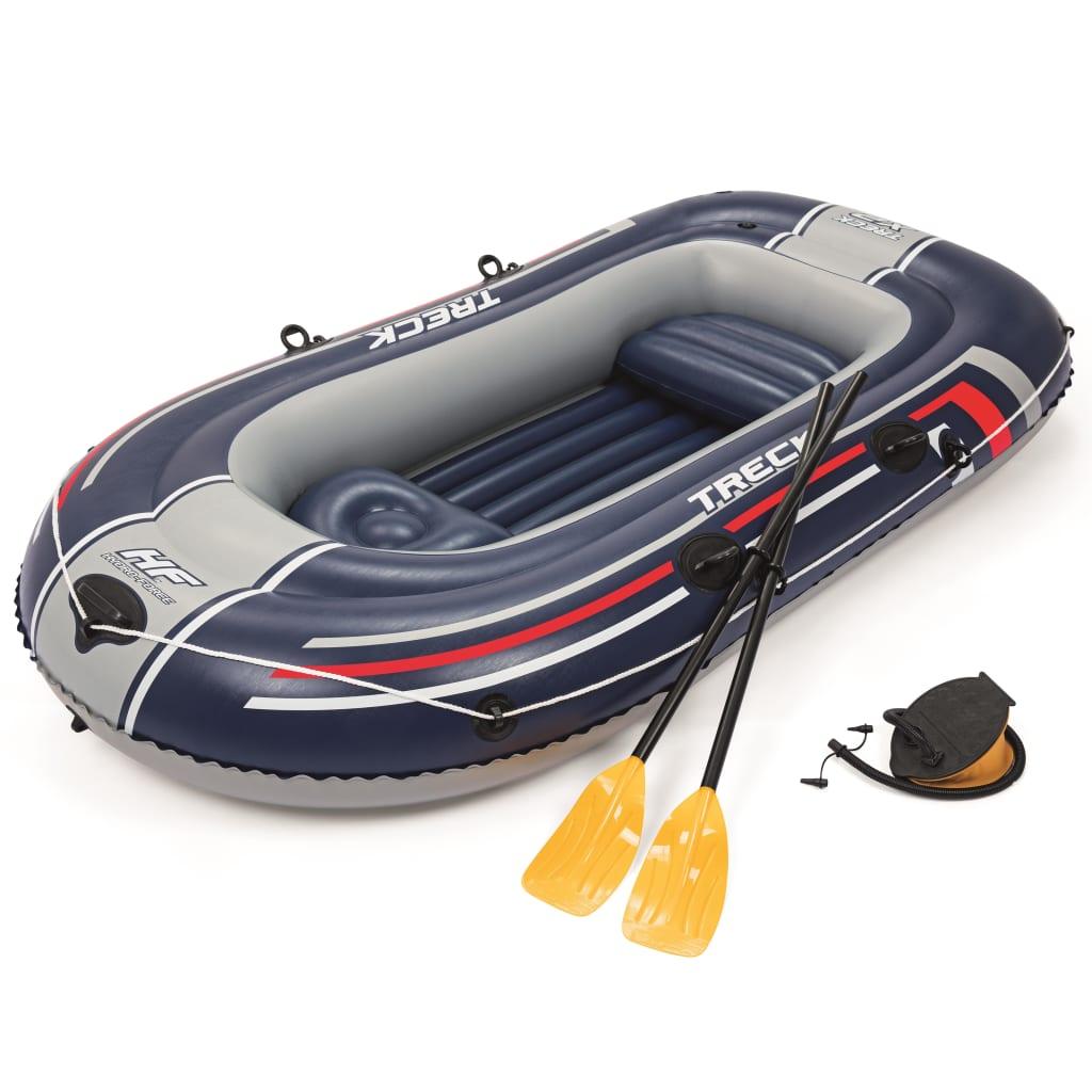 Bestway Barcă gonflabilă Hydro-Force Treck X2 Set, 255 x 127 cm, 61068 poza vidaxl.ro