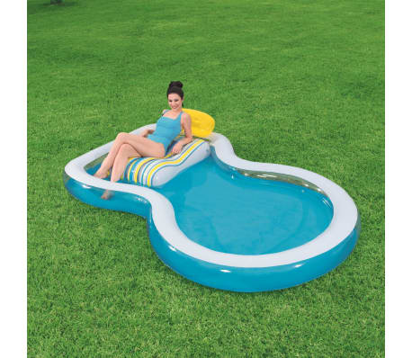 Bestway aufblasbarer pool staycation pool 54168 g nstig for Aufblasbarer pool gunstig