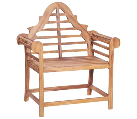 vidaXL Garden Chair 89x63x102 cm Solid Teak