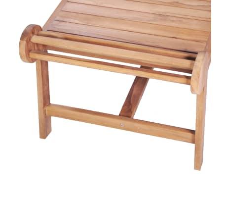 Détails sur vidaXL Teck Massif Table Basse de Salon Canapé Meuble Jardin  Patio Terrasse