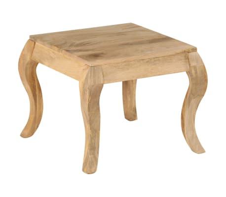 vidaXL End Table 45x45x40 cm Solid Mango Wood
