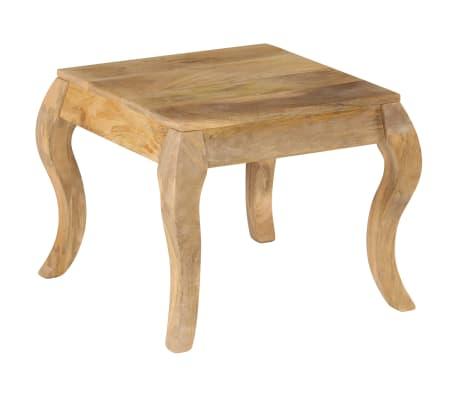 vidaXL Tavolino da Salotto in Legno Massello di Mango 45x45x40cm