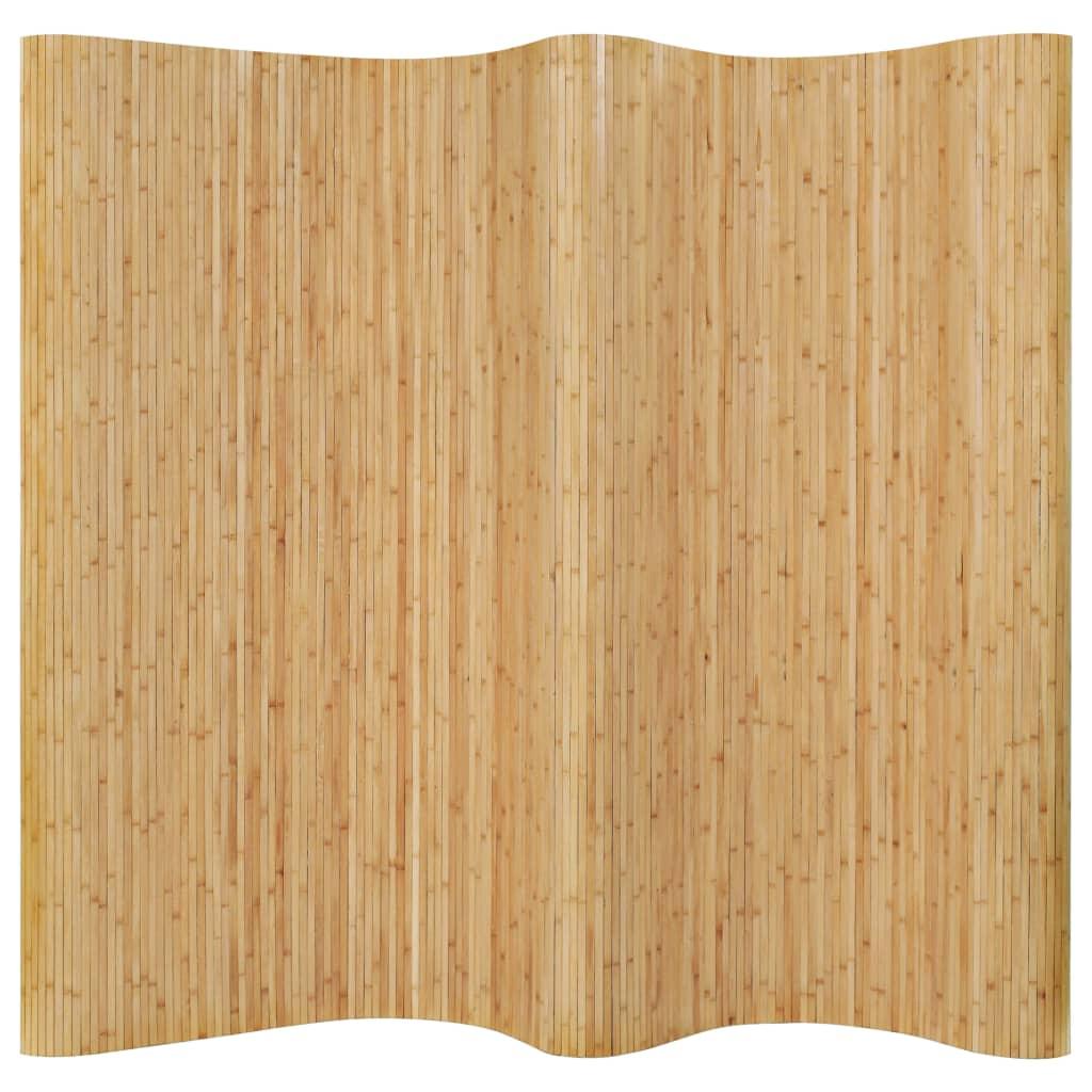 Paraván bambusový 250 x 165 cm přírodní