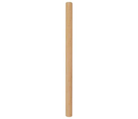 vidaXL Kambario pertvara, natūralios spalvos, 250x195cm, bambukas[2/4]