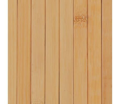 vidaXL Kambario pertvara, natūralios spalvos, 250x195cm, bambukas[4/4]