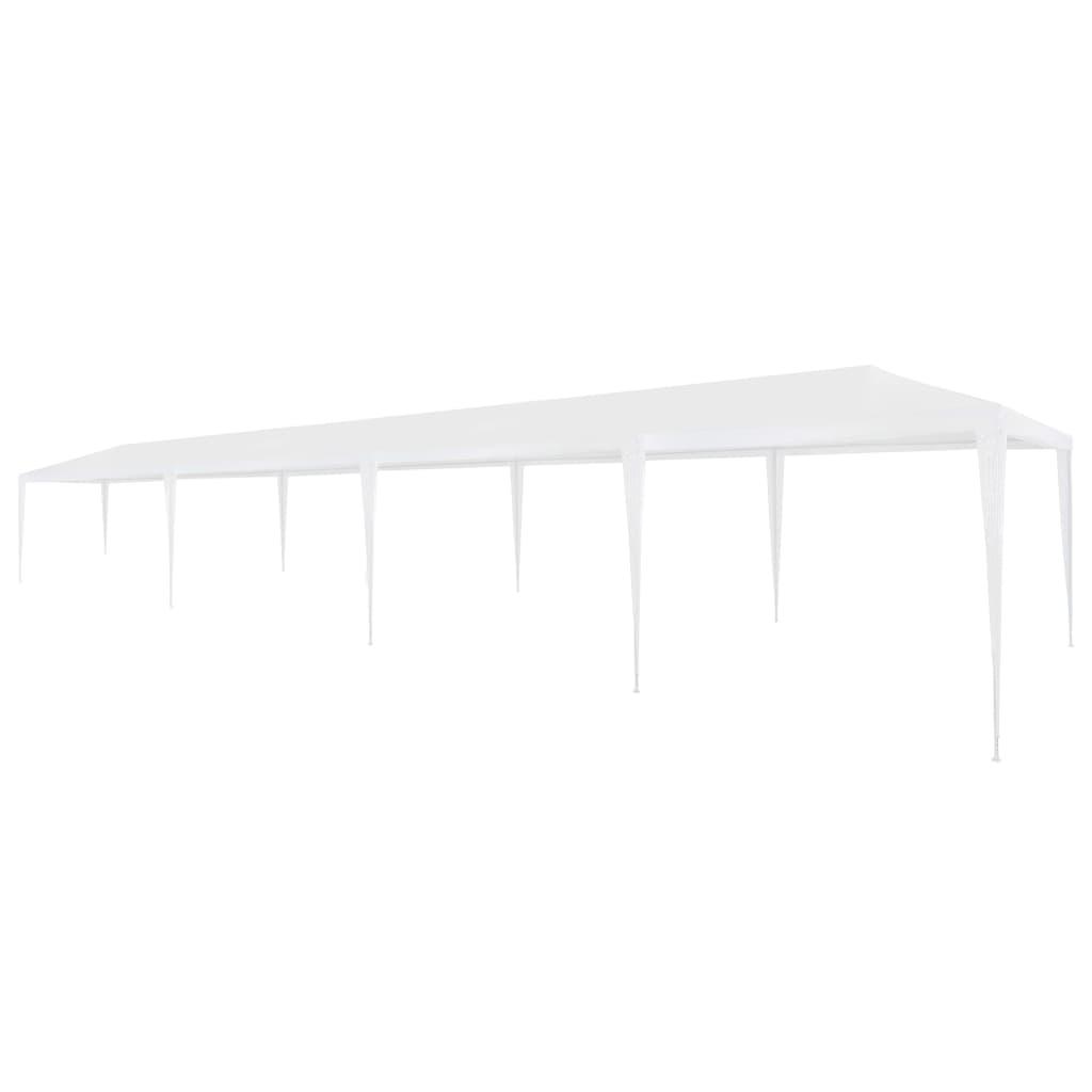 vidaXL Cort de petrecere, alb, 3 x 12 m, PE vidaxl.ro