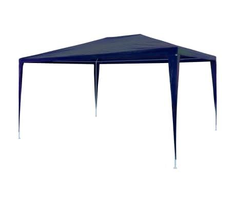 vidaXL Festtelt PE 3x4 m blå