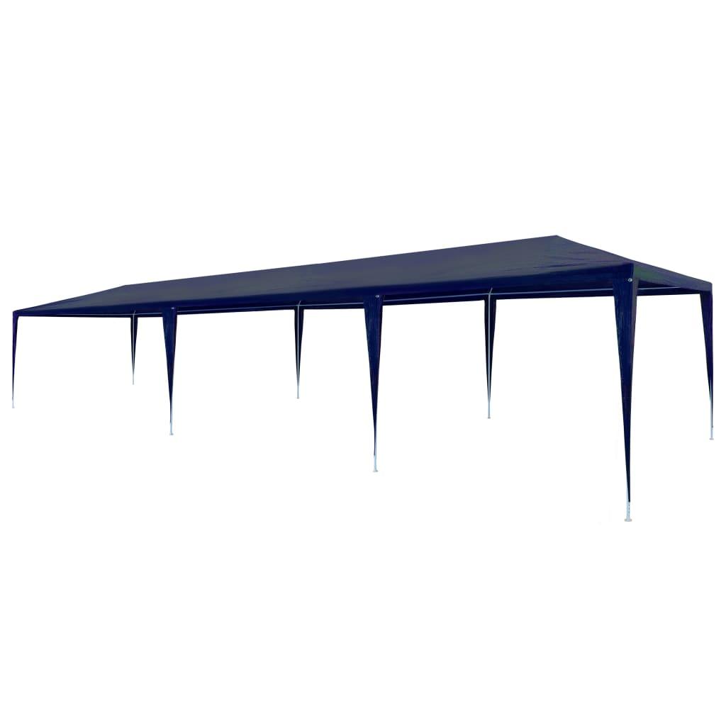 vidaXL Festtelt PE 3x9 m blå