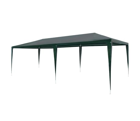 vidaXL zöld PE partisátor 3 x 6 m[1/6]
