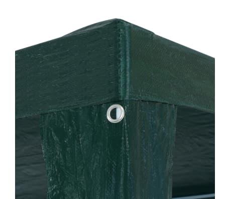 vidaXL zöld PE partisátor 3 x 6 m[4/6]