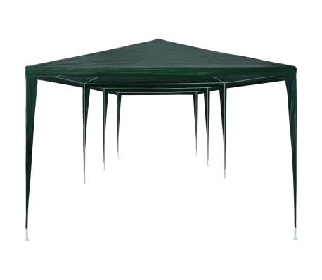 vidaXL Cort de petrecere, verde, 3 x 9 m, PE[3/6]