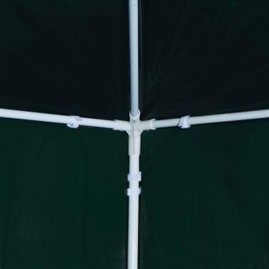 vidaXL Partytält 3x3 m grön[6/8]