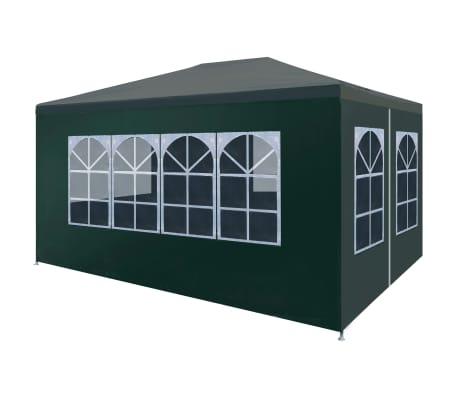 vidaXL Namiot imprezowy, 3 x 4 m, zielony